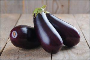 Eggplant in Staples