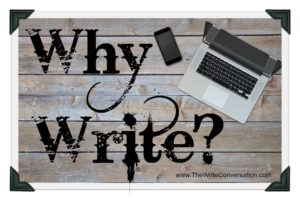 Why write imposed over image of laptop